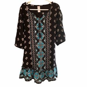 Girls Justice 3/4 Sleeve Dress-size 6